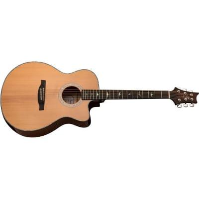 PRS SE A50E Angelus Grand Auditorium Electro Acoustic, Natural/Black Gold Burst for sale