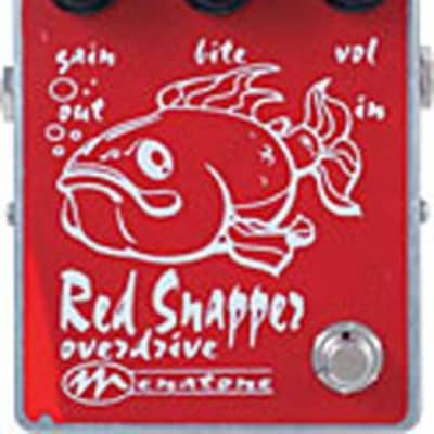 Menatone 3 Knob Red Snapper Mojo Big Box PTP Overdrive Guitar Effect Pedal