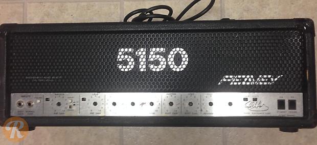 Peavey 5150 Head Black 2000s | Reverb