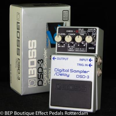 Boss DSD-3 Digital Sampler/Delay 1987 s/n 806068 Japan