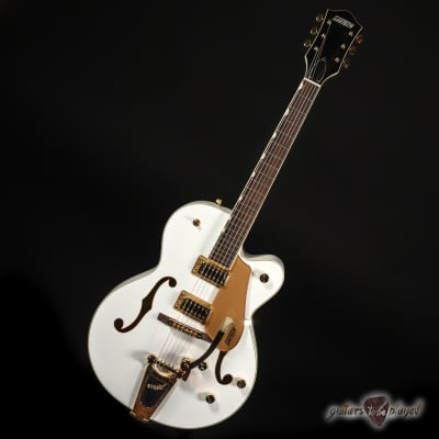 Gretsch G5420TG Limited Edition Electromatic Hollowbody Guitar – Snowcrest White