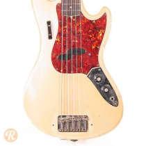 Fender Bass V 1966 Olympic White image