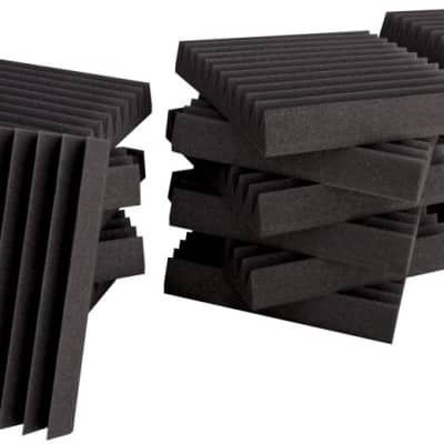 "New Ultimate Support Wall Panel, wedge, 12 x 12 x 2"" (18 per kit)"