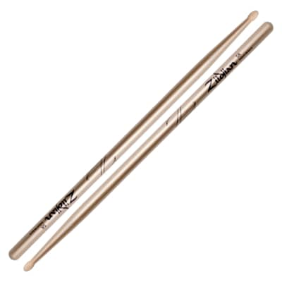 Zildjian Z5ACG 5A Chroma Gold Metallic Paint Drum Sticks Pair