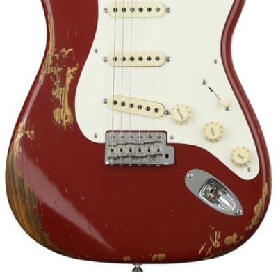 Fender Custom Shop 1956 Stratocaster Heavy Relic - Cimarron Red for sale