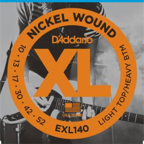 D'Addario EXL140 Electric Guitar Strings Light Top/Heavy Bottom 1 Set