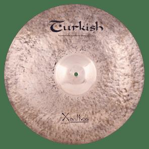 "Turkish Cymbals 22"" Rock Series Xanthos Cast Ride XC-R22"