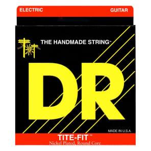 DR Strings Tite-Fit Electric Guitar Strings, 10-46, MT-10, Medium-Tite