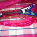 Gibson Flying V Hard Rock Cafe Model - 25 Made N.O.S. 1999 Blue