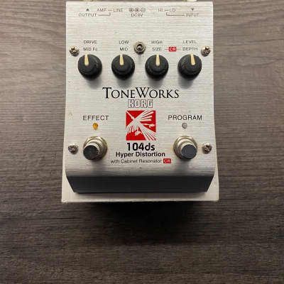 Korg Toneworks 104ds Hyper Distortion for sale