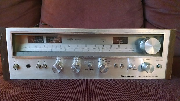 Pioneer SX-680 Vintage Stereo Receiver for Parts or Repair Sold AS IS!
