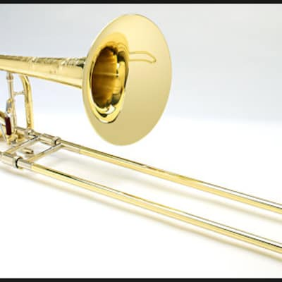 Shires Custom Bass Trombone with Axial-Flow F/G‰ª_ Attachment
