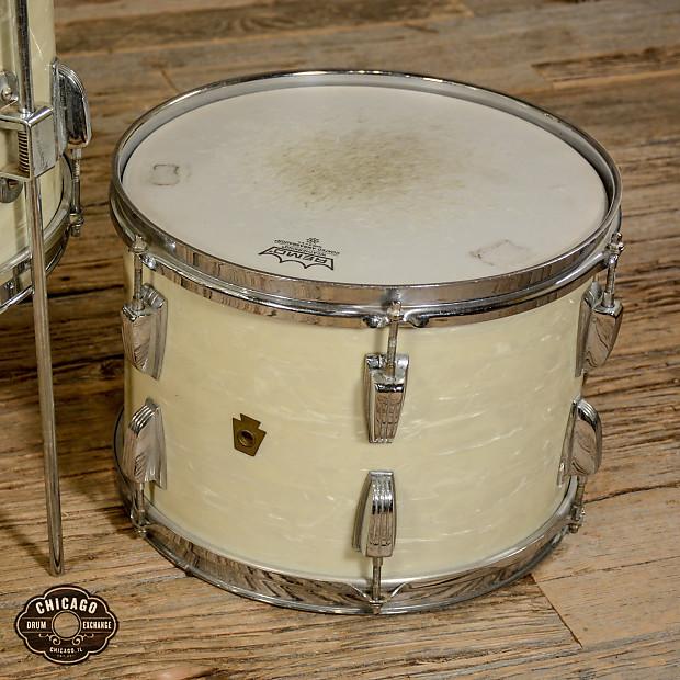 Wfl 13 16 rack floor tom drum set white marine pearl for 16 floor tom drum