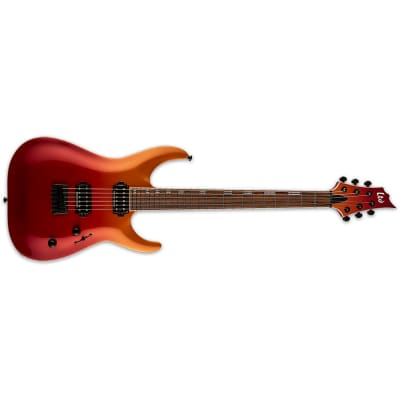 ESP LTD H-400 Guitar, Pau Ferro Fingerboard, Crimson Fade Metallic