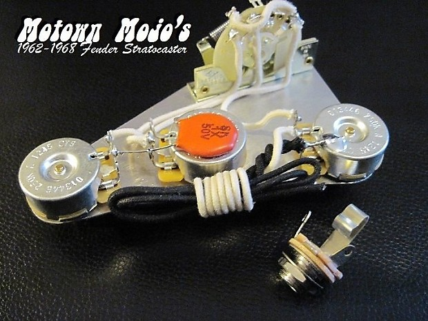 motown mojo 1962 1968 reproduction fender strat wiring. Black Bedroom Furniture Sets. Home Design Ideas