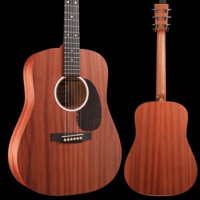 Martin DJr-10E (Sapele top) Junior (Gig Bag Included) S/N 2252165 4 lbs, 2.3 oz for sale