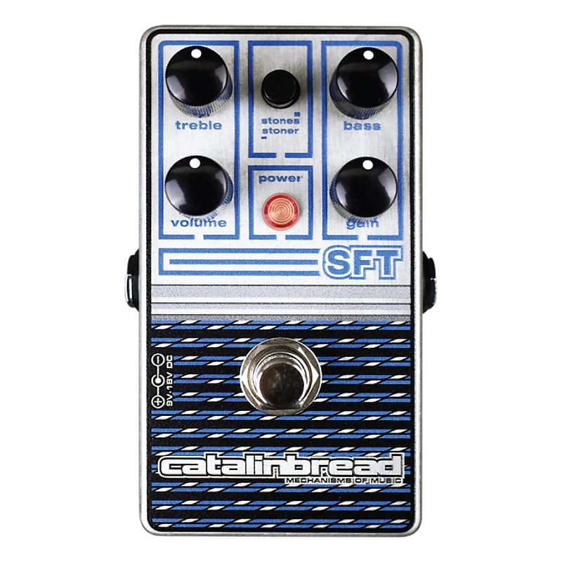 Catalinbread SFT Ampeg Overdrive Effects Pedal