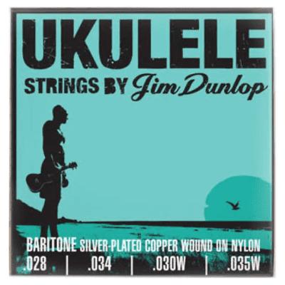 Dunlop DUQ304 Baritone Ukulele 4-String Set