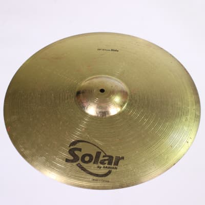 """Used Solar RIDE CYMBAL 20 Cymbals 20"""""""