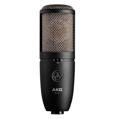 AKG P420 High Performance Large Diaphragm Condenser Microphone Demo Open Box