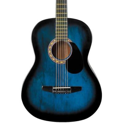 Rogue Starter Acoustic Guitar Regular Blue Burst for sale