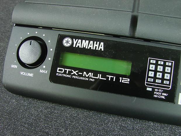 Yamaha Dtx Multi 12 Digital Percussion Pad Wpower Supply