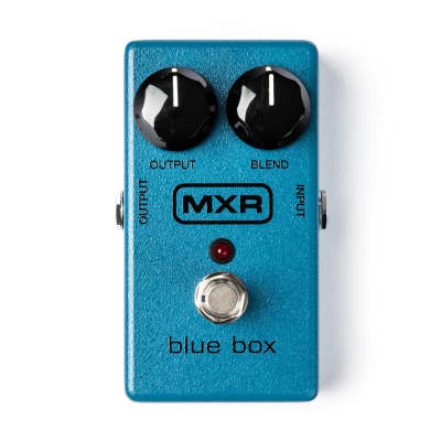 MXR MXR103 Blue Box Octave Fuzz Pedal for sale