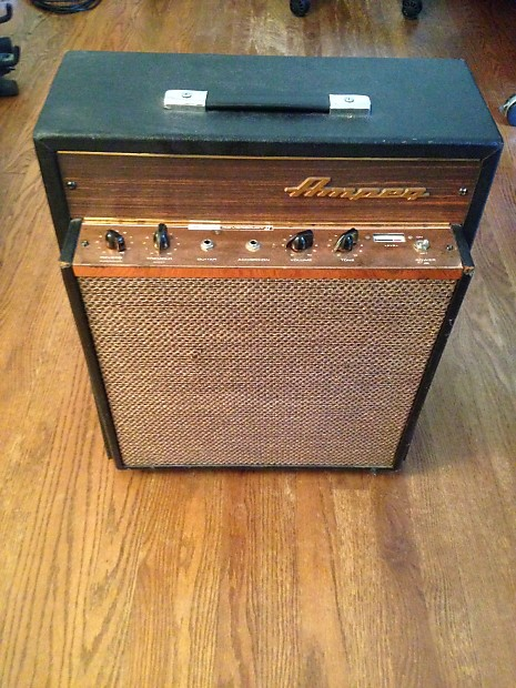 1968 Ampeg Reverbojet Ii 2 J12r Golden Glo Rare Guitar