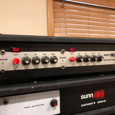 Sunn Concert Lead 1978 Silverface for sale