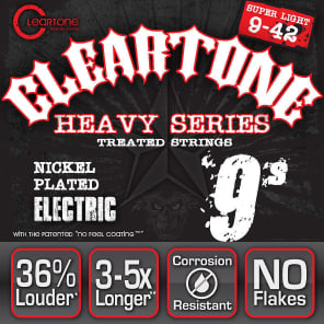 Cleartone 9509 Monster Electric Guitar Strings - Extra Light (9-42)
