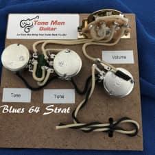 Mega Strat Plus guitar wiring harness expanded Strat tones | Reverb