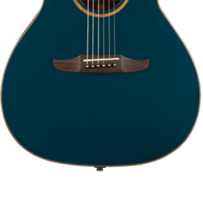 Fender Newporter Classic Acoustic Electric Guitar - Cosmic Turquoise for sale