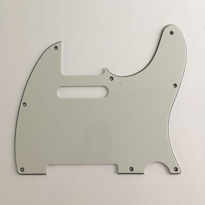 Parchment White NOS Relic 3-Ply Guitar Pickguard Telecaster Fender Tele 80s MIJ?