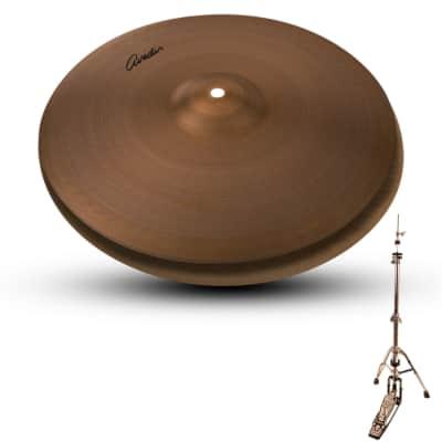 "Zildjian A Avedis Series 16"" Hit Hat Cymbal Pair with ChromaCast Hi Hat Stand"