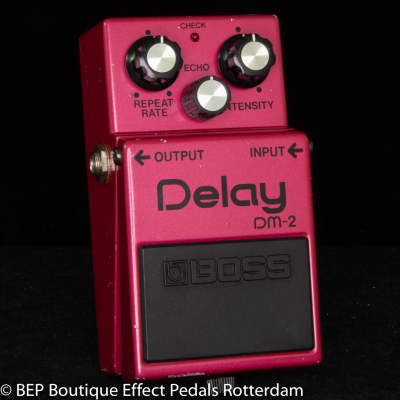 Boss DM-2 Delay 1984 Japan s/n 415500 with MN3205 BBD and MN3102 Clockdriver