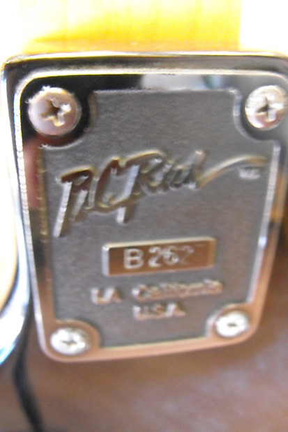 bc rich serial number location