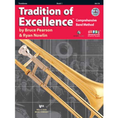 Tradition of Excellence: Comprehensive Band Method - Trombone | Book 1