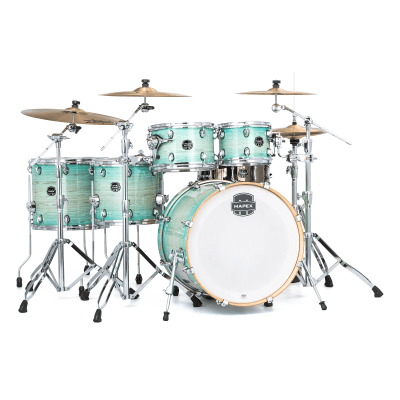 """Mapex AR628S Armory 22x18"""" / 10x8"""" / 12x9"""" / 14x14"""" / 16x16"""" / 14x5.5"""" 6pc Studioease Shell Pack with Chrome Hardware"""