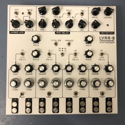 Soma Laboratory Lyra-8 Organismic Synthesizer 2017 - 2020 White