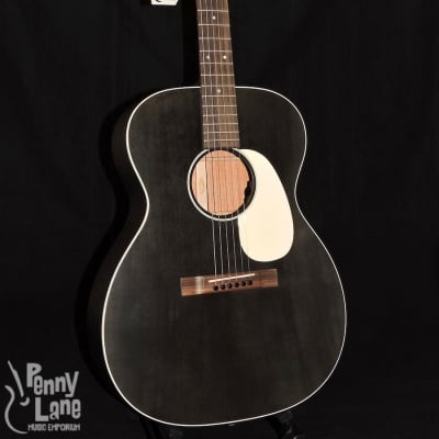 Martin 000-17E Black Smoke 000 Acoustic Electric Guitar With Case