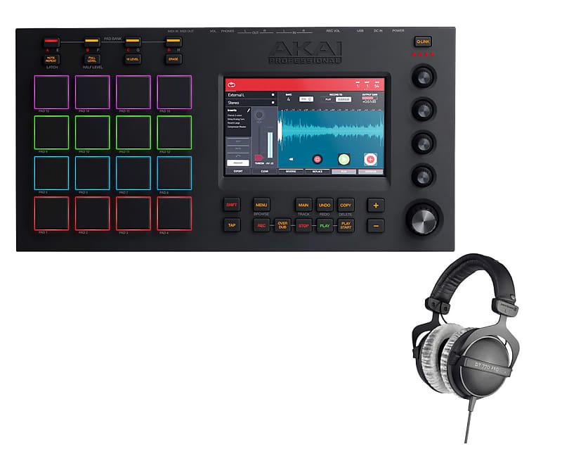 Akai MPC Touch + Beyer DT-770 Pro 80 Headphones