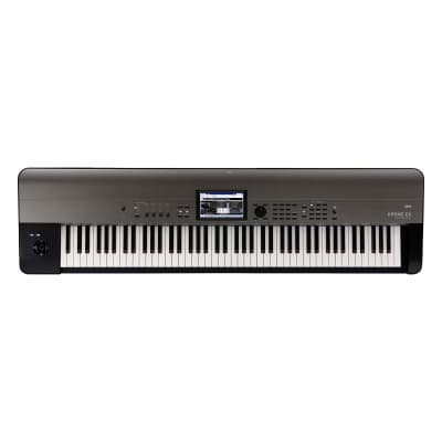 Korg KromeEX88 88-Key Synthesizer with New Sounds and PCM