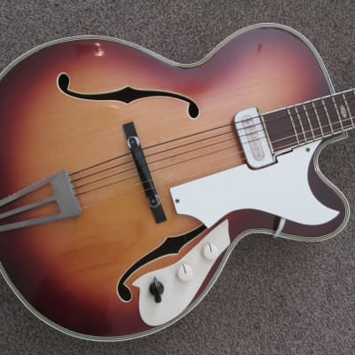 Musima archtop model 1653 c.1960 sunburst for sale