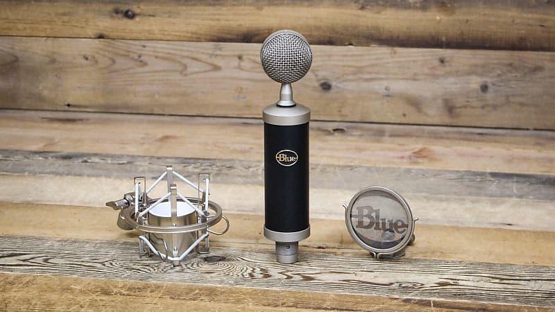 blue baby bottle microphone w shock mount pixel pro audio reverb. Black Bedroom Furniture Sets. Home Design Ideas