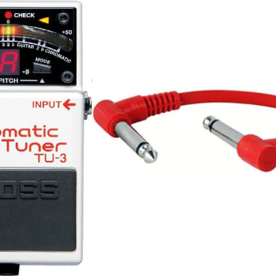 Boss TU-3 Chromatic Tuner Guitar Pedal INCLUDING PATCH CABLE for sale