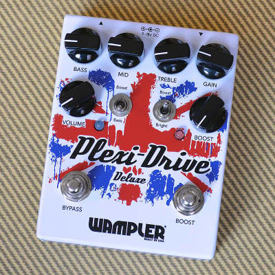 Wampler Plexi-Drive Deluxe Overdrive Pedal image