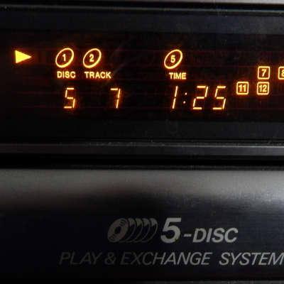 JVC XL-F115TN 5 disc cd player