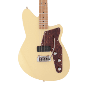 Reverend Matt West Signature with Roasted Maple Neck Powder Yellow