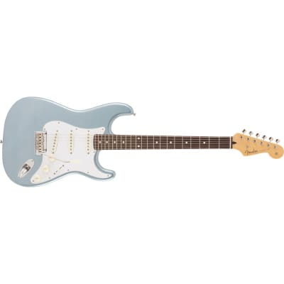 Fender MIJ 2019 Limited Collection Stratocaster, Rosewood, Ice Blue Metallic for sale