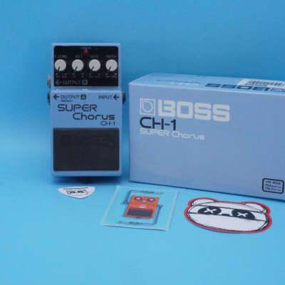 Boss CH-1 Super Chorus w/Original Box   Rare Pink Label   Fast Shipping!